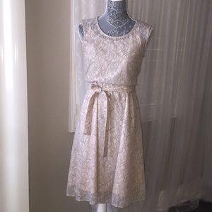 Catherine Malandrino Crochet/Lace Dress
